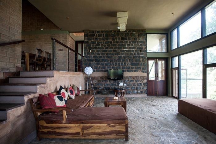 Interiors of Hornbill House designed by Biome; source - Architecture Live