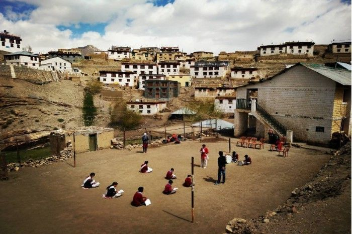 A typical school day at Village Kibber