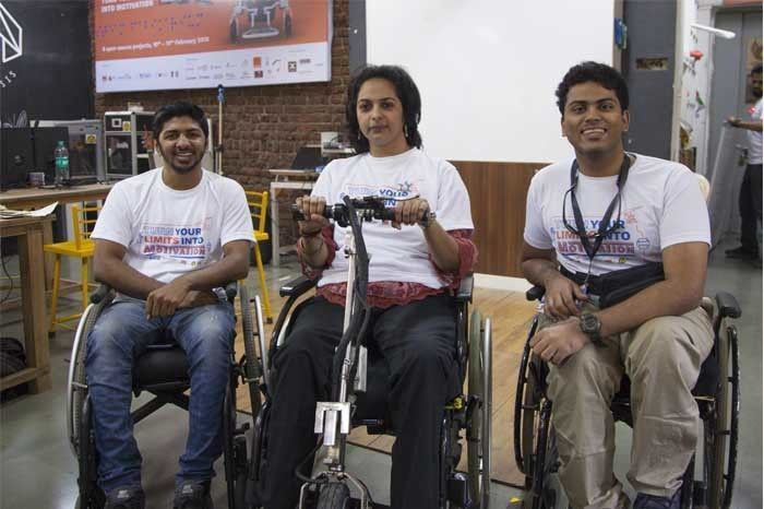 On Motor Wheelchairs. Photographed by Rashi Arora for Homegrown