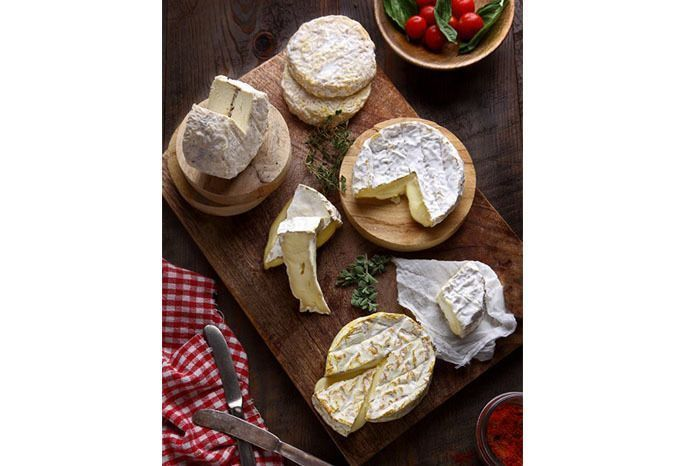 The Spotted Cow Fromagerie Cheese platter