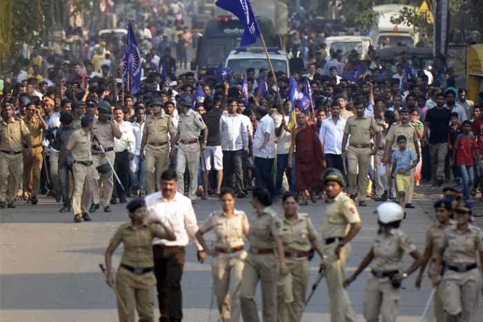 Koregaon-Bhima Violence. Image Source: ZeeNews.India