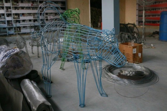 The Pissing Dog. Photograph by: Suhani Lakhotia