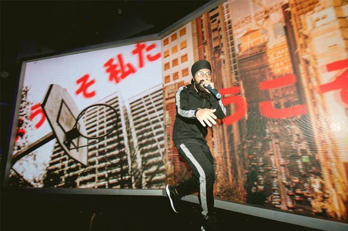Prabh Performing At The Puma #RUNTHESTREETS launch party
