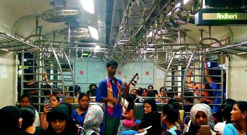 Rhythm on Rails - Profiling The Invisible Musicians On Mumbai Locals