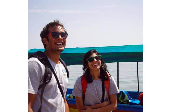 Picture of Kanishk and Mallika