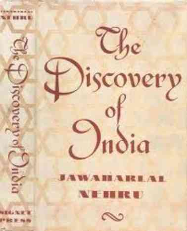 The cover of Jawaharlal Nehru's Discovery Of India, designed by Satyajit Ray