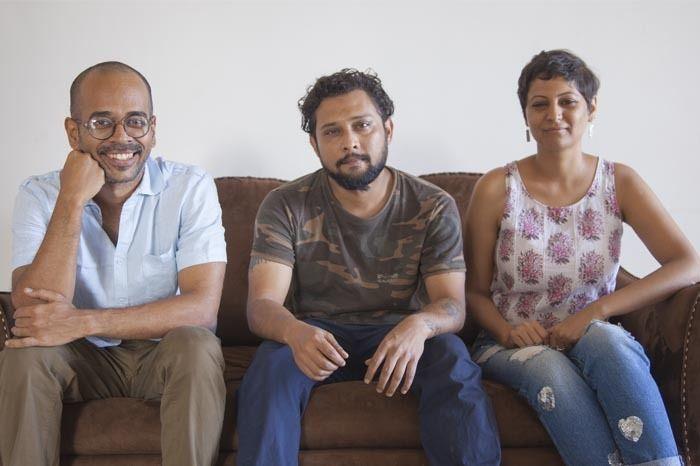 Aal's Kitchen team (L to R): Ankit Mehrotra, Alistair Lethorn, Atika Chohan