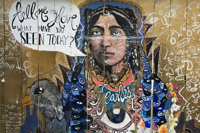 Fearless Mural at Clarion Alley, San Francisco. Source: Facebook