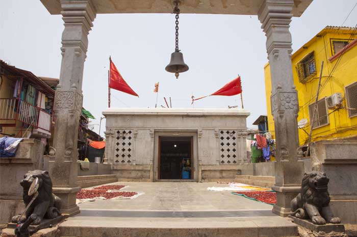 The Golfa Devi Temple At Worli Koliwada. Photographed by Rashi Arora for Homegrown